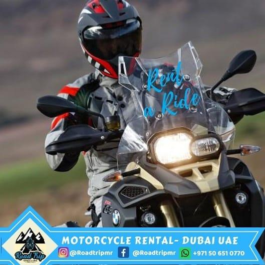 Noleggio moto a Dubai