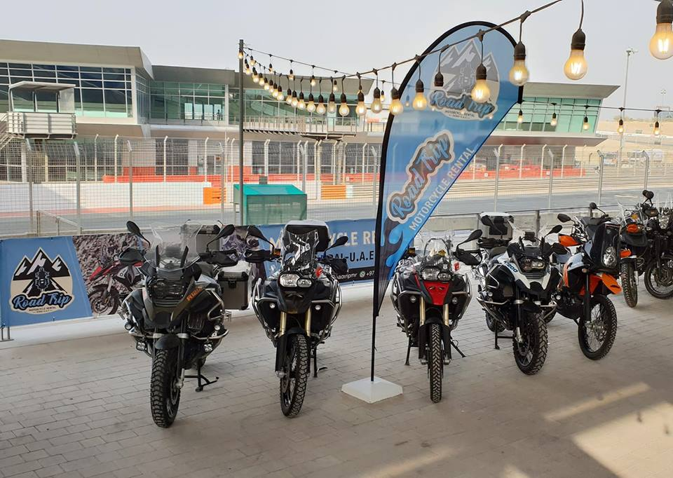 Motorcycle rental in Dubai