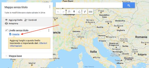 Istruzioni per Google Maps